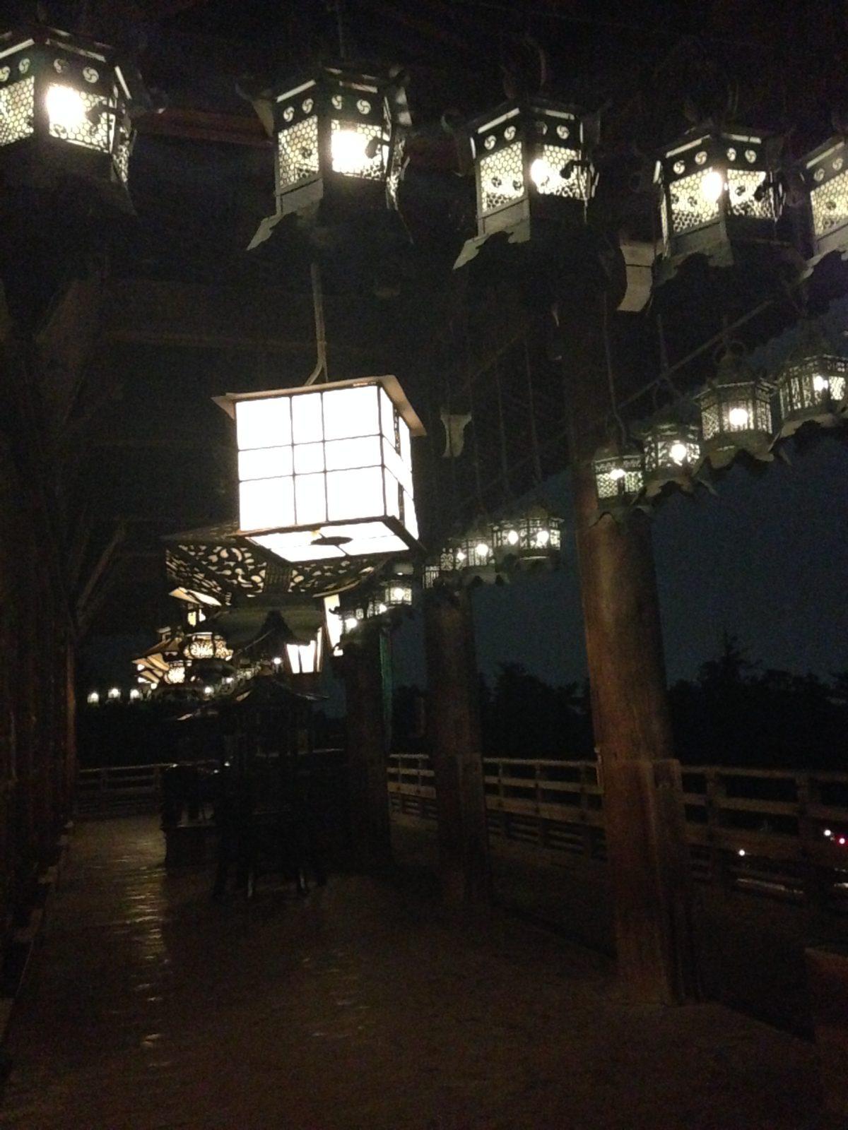 二月堂吊提灯1