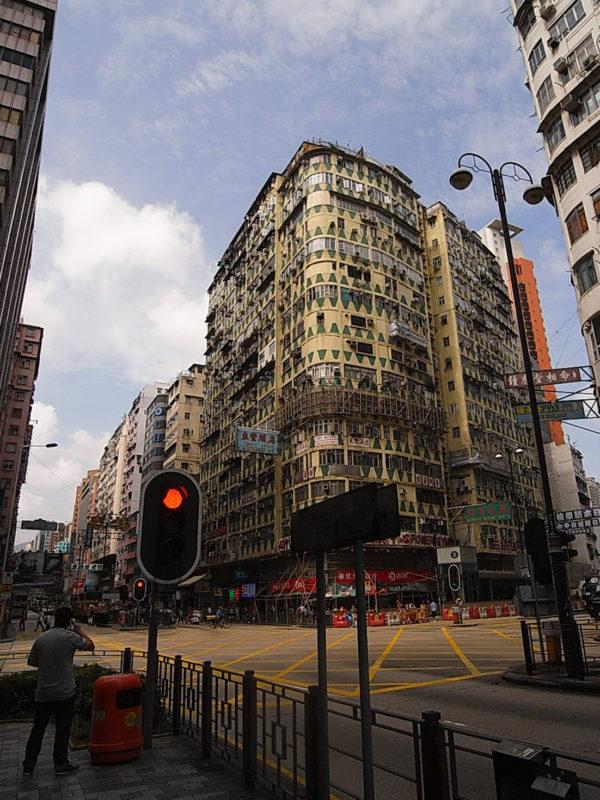 香港の集合住宅