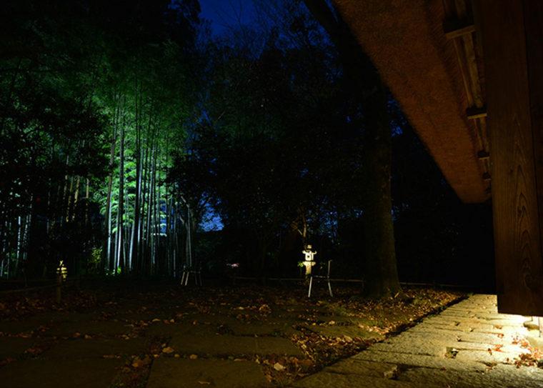 旧白洲邸 武相荘 ライトアップ